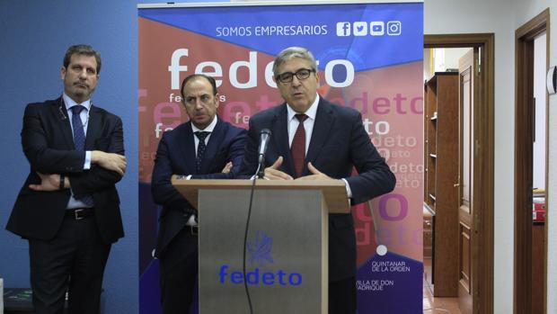 El presidente del ICO, José Carlos García de Quevedo