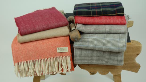 Mantas Grazalema ha logrado que sus prendas sean reconocidas en los mercados internacionales