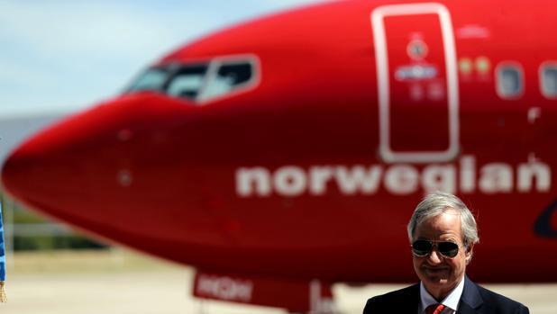 Bjorn Kjos, CEO de Norwegian Group