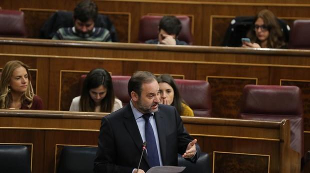 Comparecencia del ministro de Fomento, José Luis Ábalos, en el Congreso de los Diputados