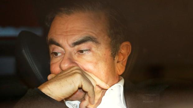Carlos Ghosn, expresidente de Nissan Motor y Renault
