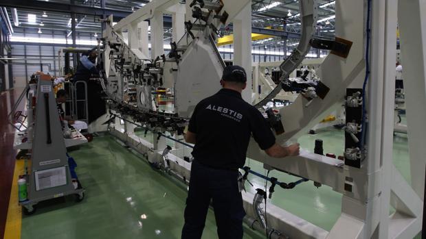 Una de las factorías de Alestis, proveedor de Airbus