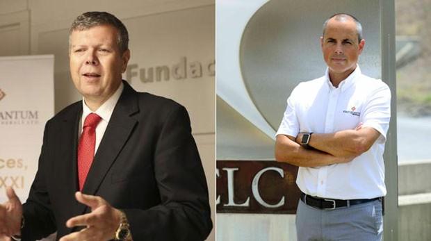 Iaian Anderson (i) dimite como consejero delegado de Cobre Las Cruces y le sustituye Juan Pedro Soler (d)