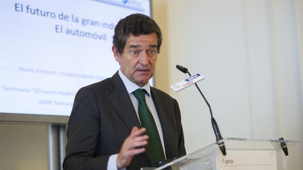 El vicepresidente ejecutivo de la Asociación Nacional de Fabricantes de Automóviles y Camiones (Anfac), Mario Armero