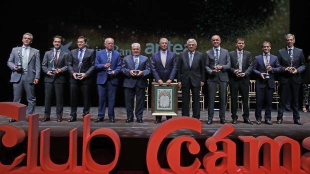 Premiados por la Cámara de Comercio de Sevilla en el Teatro Cartuja Center