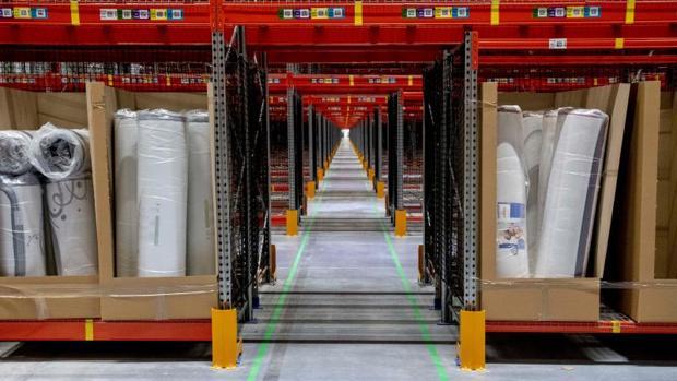 Centro logístico de Amazon en Illescas