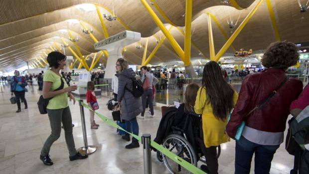 El aeropuerto Adolfo Suárez-Madrid Barajas registró el menor número de incidencias de España