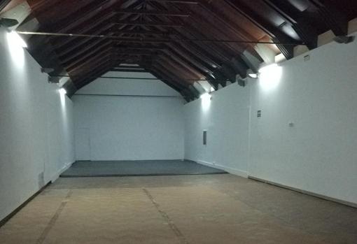 Sala del Espacio San Clemente, que ya usó durante 25 años el Ayuntamiento de Sevilla
