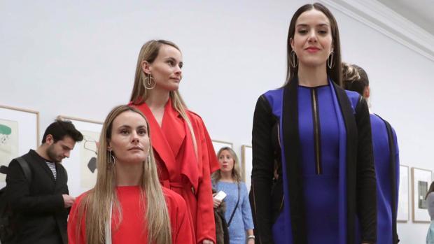 Desfile de Pilar Dalbat en la Fashion Week