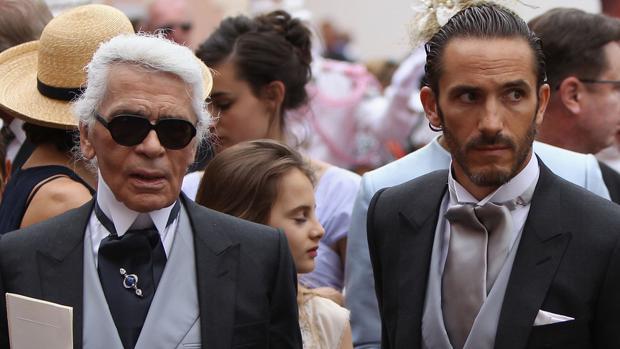 Karl Lagerfeld y Sebastien Jondeau