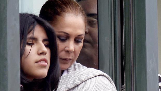Isabel Pantoja y su hija Chabelita