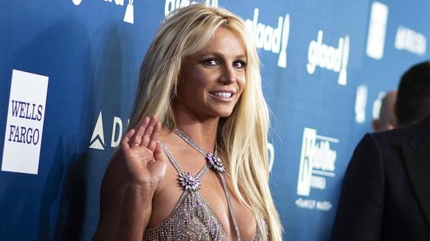 Britney Spears el pasado abril en Beverly Hill