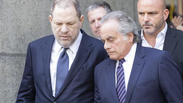 Harvey Weinstein y el que hasta ahora era su abogado