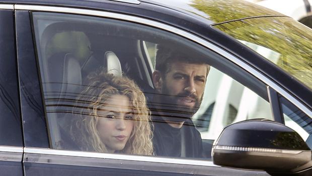 Shakira y Gerard Piqué, en Barcelona