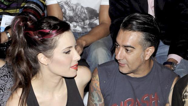 Pilar Rubio junto a José Molinero, «Molly»