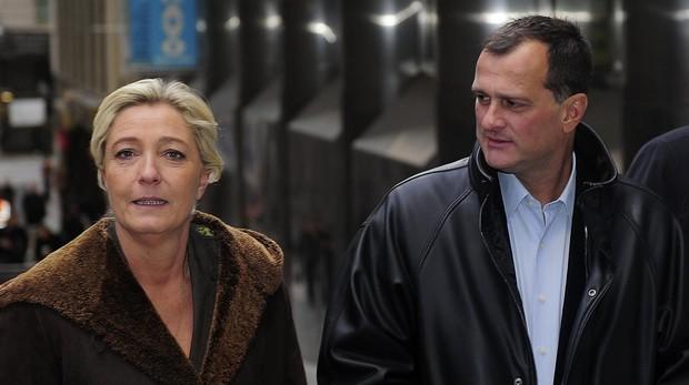 Marine Le Pen y Louis Aliot