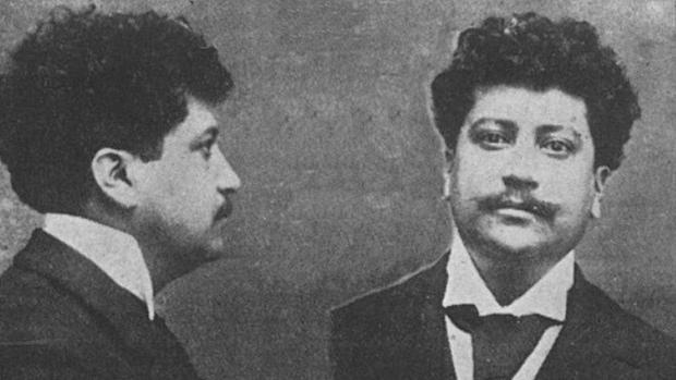 Ricardo Flores Magón preso 1903