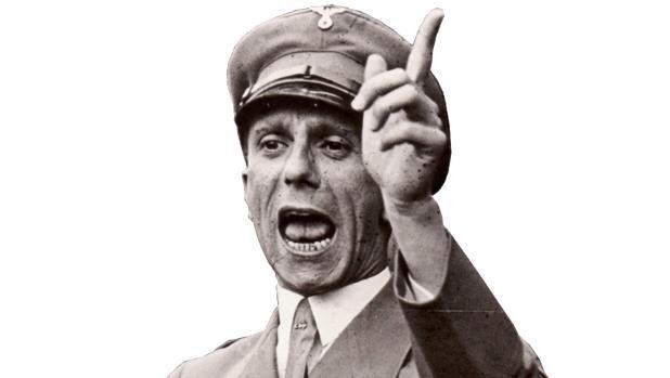 Goebbels fue ministro de Propganada del Tercer Reich