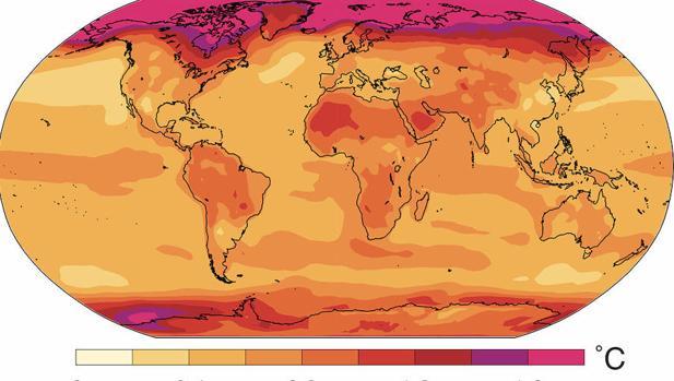 El cambio climático enriquece a los países fríos como y ha frena el crecimiento económico en países cálidos