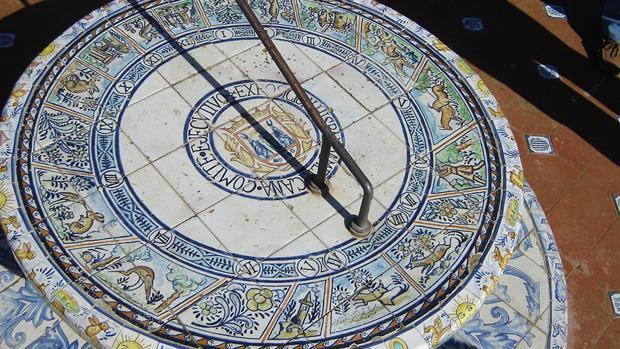 El reloj solar del parque de María Luisa