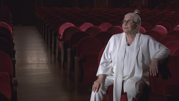 Lola Herrera en el Teatro Calderón de Valladolid