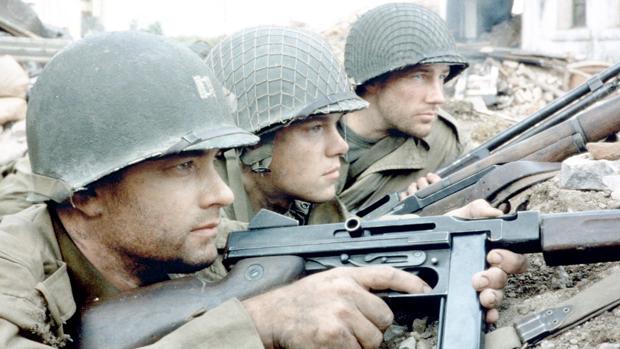 Escena de «Salvar al soldado Ryan»