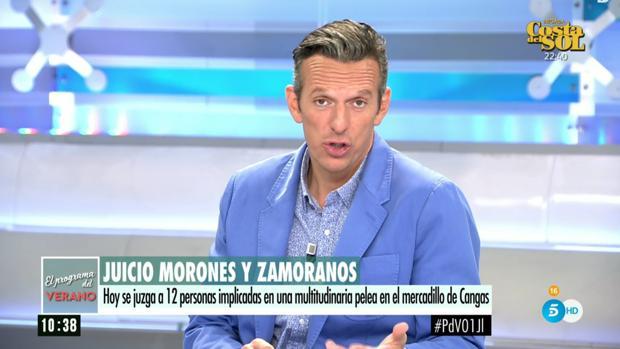 Joaquín Prat, presentador de «El programa del verano»