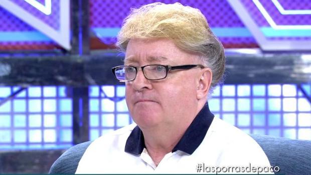 Paco Porras en su entrevista en «Sálvame deluxe»