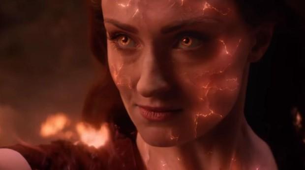 Sophie Turner en «X-Men: Fénix Oscura»