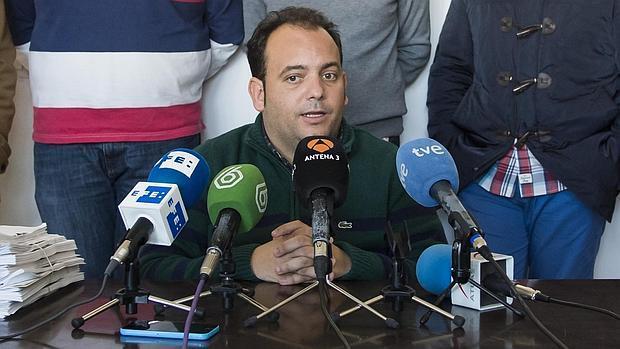 El alcalde de La Algaba, Diego Manuel Agüera (PSOE)