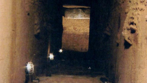 El dolmen Matarrubilla en una imagen de 2006