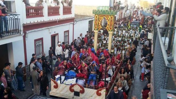 Cabalgata de Reyes Magos de Los Palacios y Villafranca