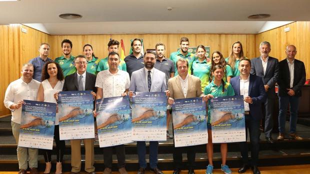 Presentación del Campeonato de España de Natación reunirá en Mairena a unos 750 nadadores de más de 200 clubes