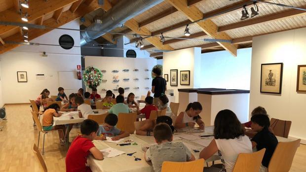 Los talleres continúan las actividades pensadas para niños que el Museo realiza durante todo el año