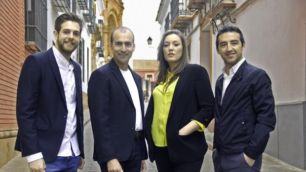 Andrés Barrios, Antonio Moreno, María Marín y Juan M.Jiménez, ofrecen un concierto en Utrera
