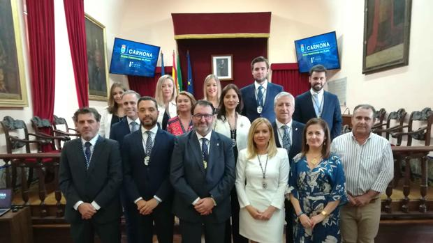 El gobierno del PP en Carmona contará con 13 concejales, lo que le otorga mayoría absoluta