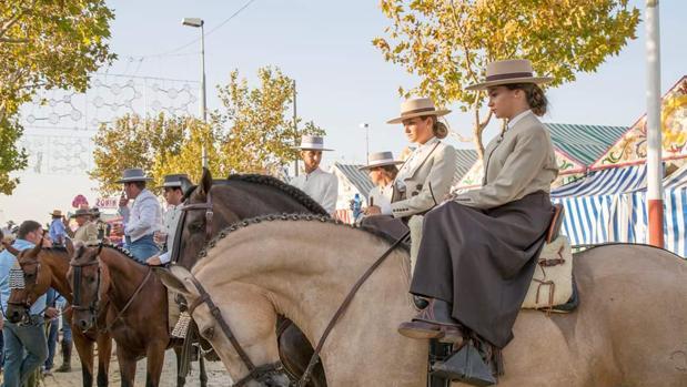 El paseo a caballo es uno de los puntos en común que tienen todas las ferias de la provincia