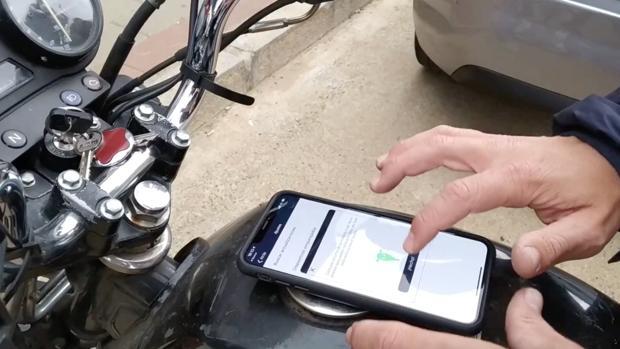 Una startup sevillana ha creado una aplicación para controlar el robo de las motos