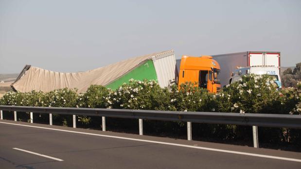 Imagen de archivo de un accidente