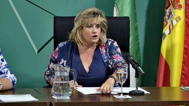 La delegada de Educación, Francisca Aparicio