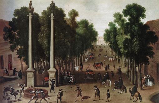 Sevilla ayer y hoy: la Alameda de Hércules