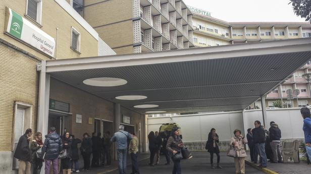 Imagen de Urgencias del Hospital Virgen del Rocío