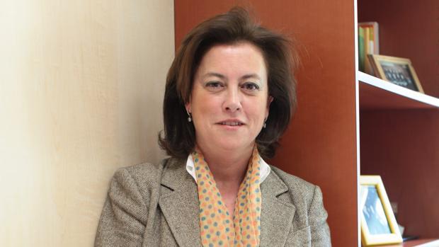 En la imagen, Mercedes Fernández Ordóñez