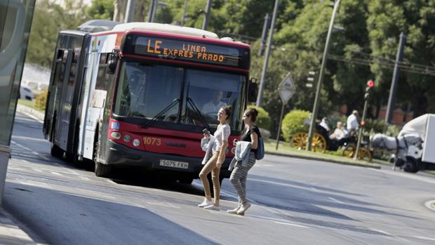 Autobús urbano de Tussam