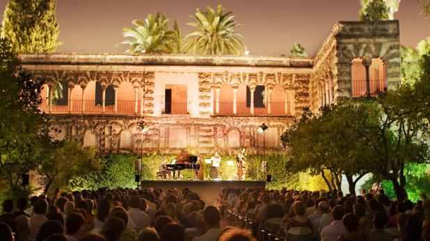 El precio de las entradas a los conciertos de Noches en el Alcázar es de seis euros