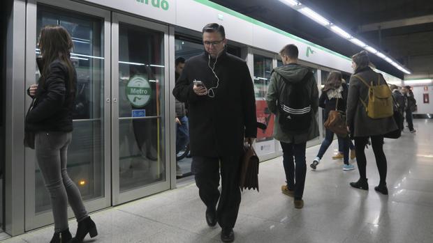 Estación de San Bernardo del Metro de Sevilla, en una imagen de archivo
