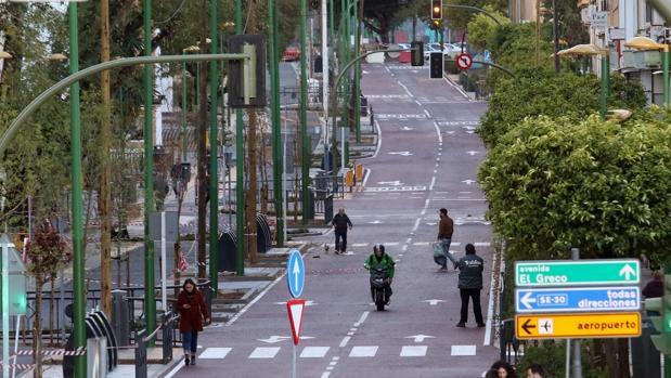 Estado actual de la avenida del Greco