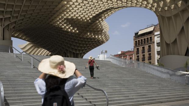 Este miércoles se alcanzarán las temperaturas máximas en Sevilla