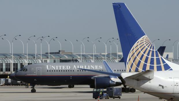 Dos aviones de la aerolínea norteamericana