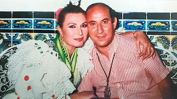 Rocío Jurado y Juan Valdés